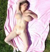 Huge boobs show