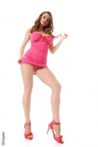 Busty stripper scene : Big Boobs stripper